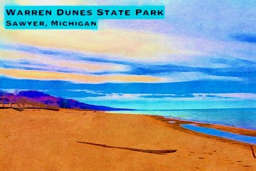 Warren Dunes Beach