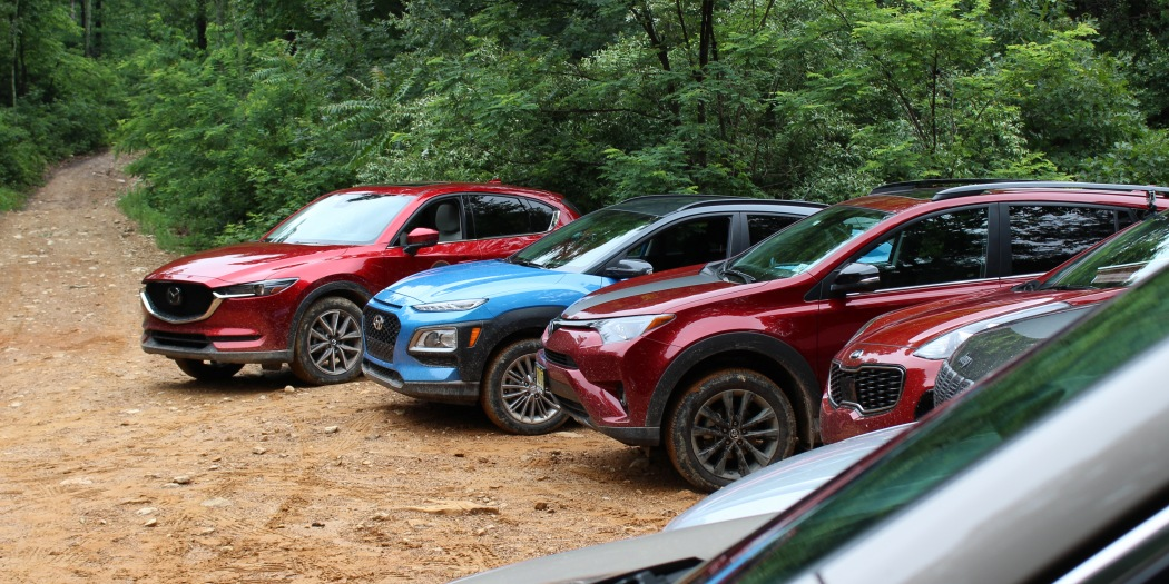 Left Lane News : Compact Crossovers Tackle the Trail Trek Tour