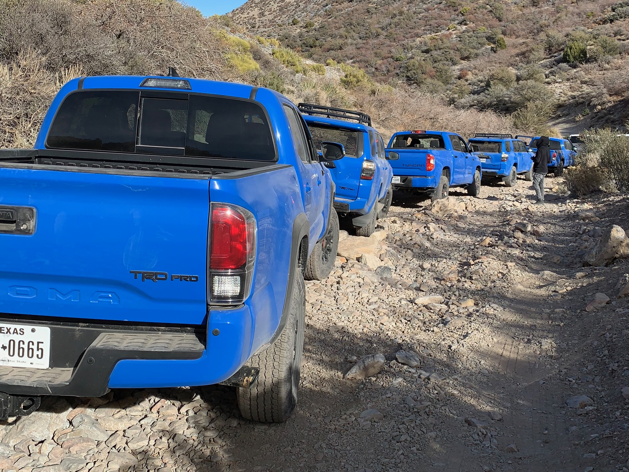 Gunaxin : Toyota TRD Pro – Off-Road Adventure Over Wheeler Pass in Nevada