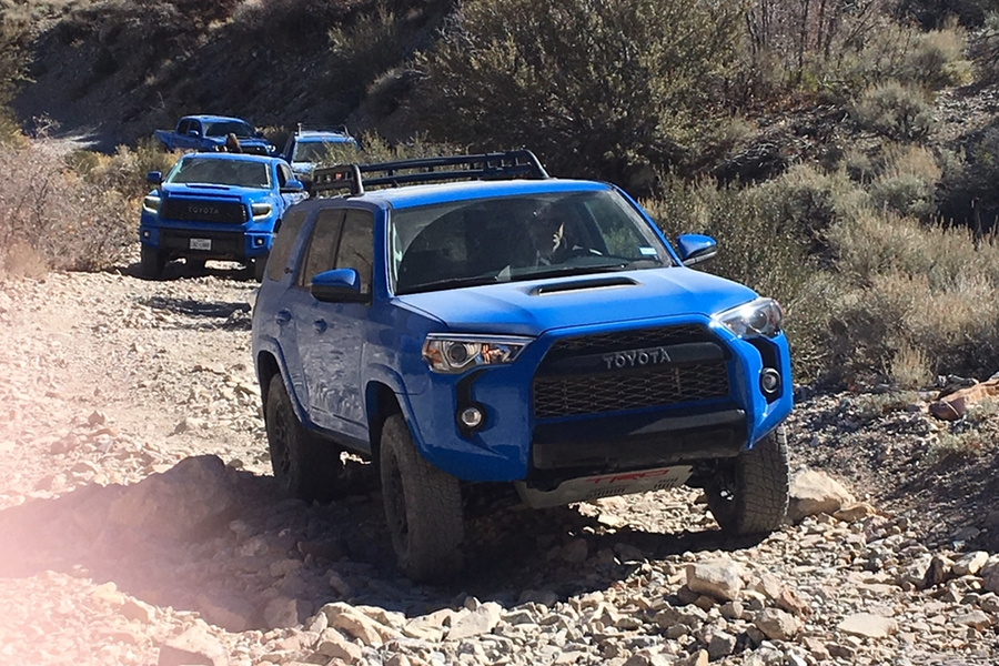 Man of Many : We Took the Whole 2019 Toyota TRD Pro Series Fleet Off-Roading in the Nevada Desert