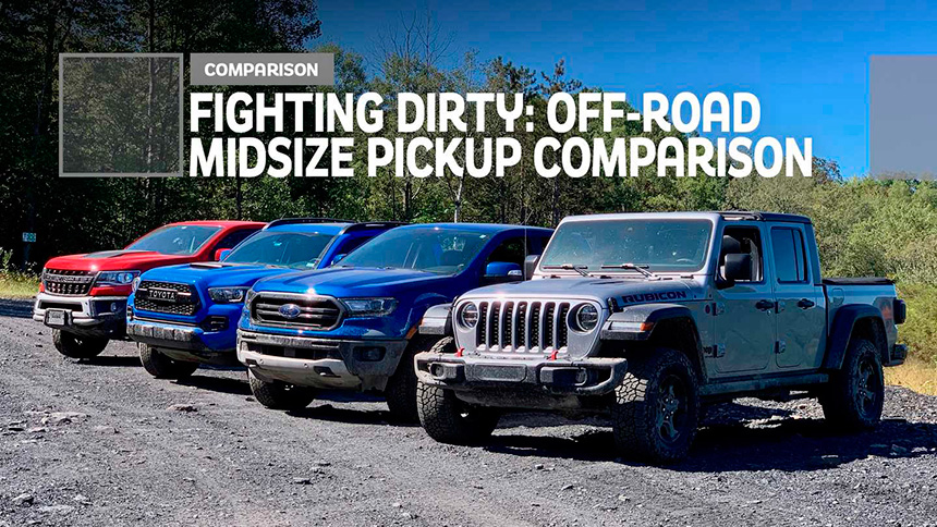 Motor1.com : Fighting Dirty – Comparing Ford, Chevy, Jeep, And Toyota Trucks Off-Road