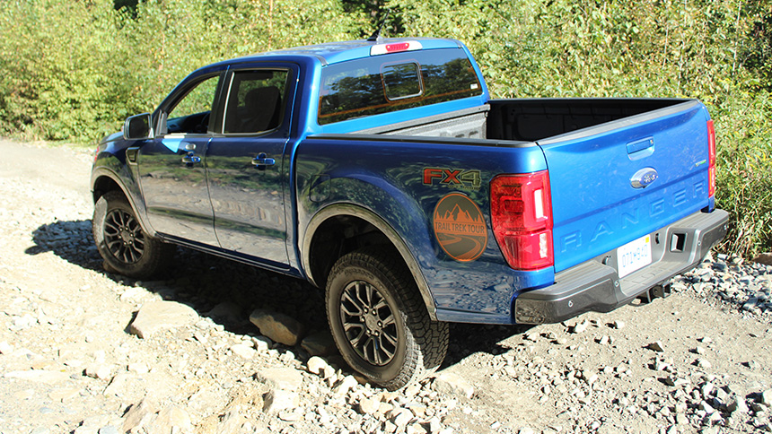 Right Foot Down : Taking the Ford Ranger FX4 Off-Road