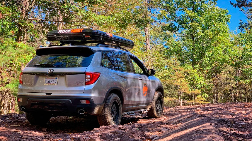 Hooniverse : Off-roading a soft-roading Honda Passport