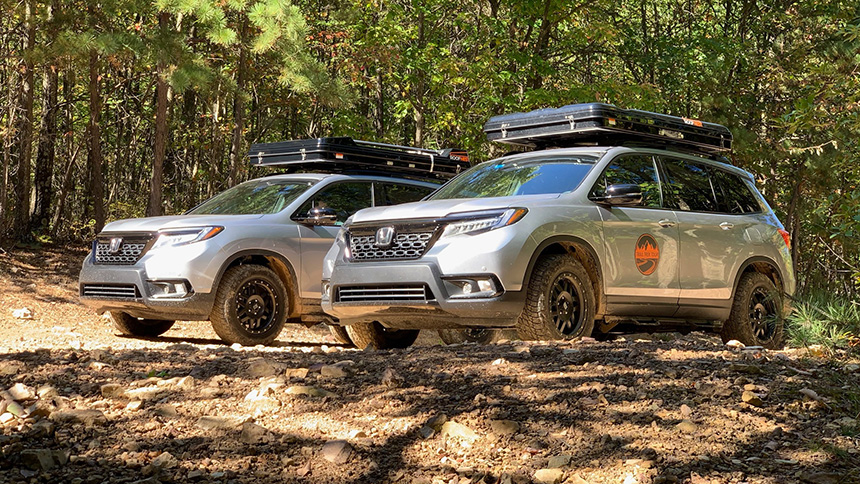 Gunaxin : 2019 Honda Passport – Off-Road in Virginia