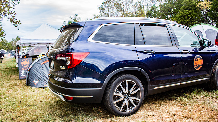 Right Foot Down : Trail Treking & Overlanding in a 2019 Honda Pilot Elite