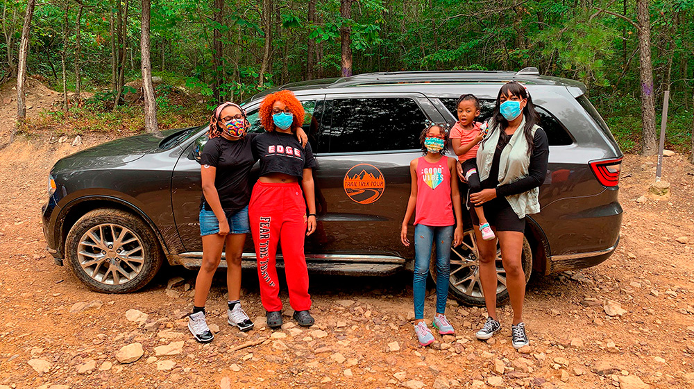 "@CrystalLew : ""I Took My Family Off-Roading!"""