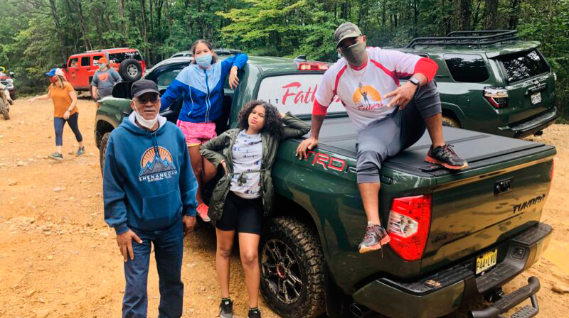 Fit Fathers : Tundra TRD Pro Off-Road Family Fun