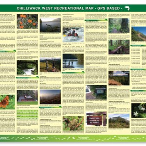 West Chilliwack hiking trail map