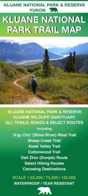Kluane Trail Map , Yukon