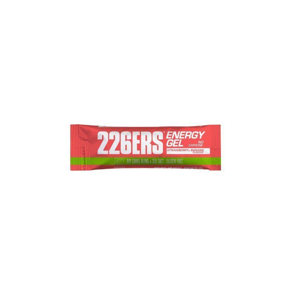 226ers BIO ENERGY GEL 40gr FRESA Y PLÁTANO