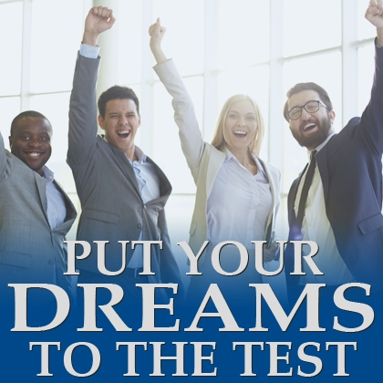 Put your Dreams to the test - course