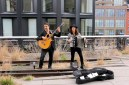 Marzo 2016, New York - Playing on the High Line