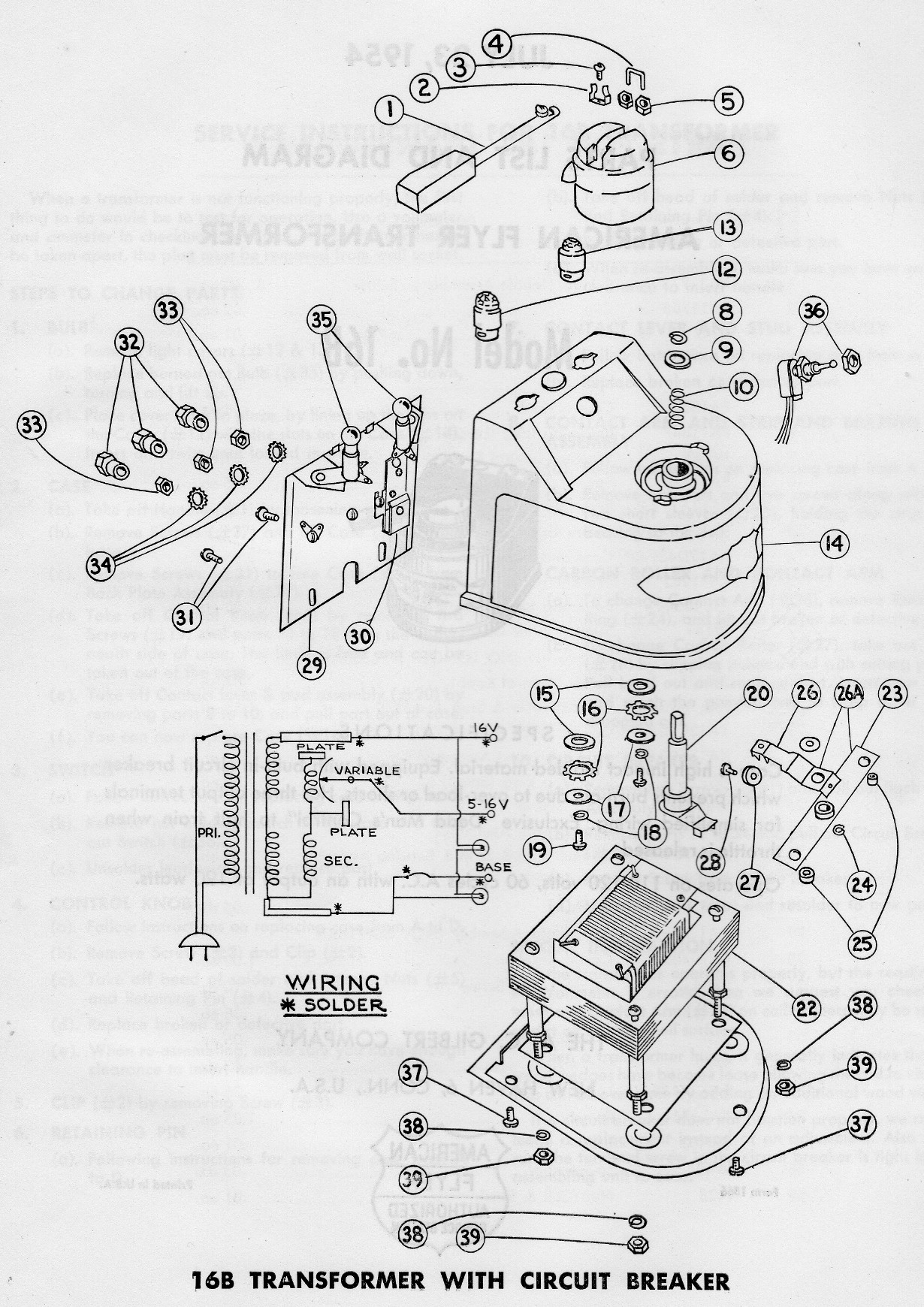 Lionel Tw Transformer Wiring Diagram