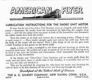 American Flyer Lootive 322 Hudson Parts List | TrainDR