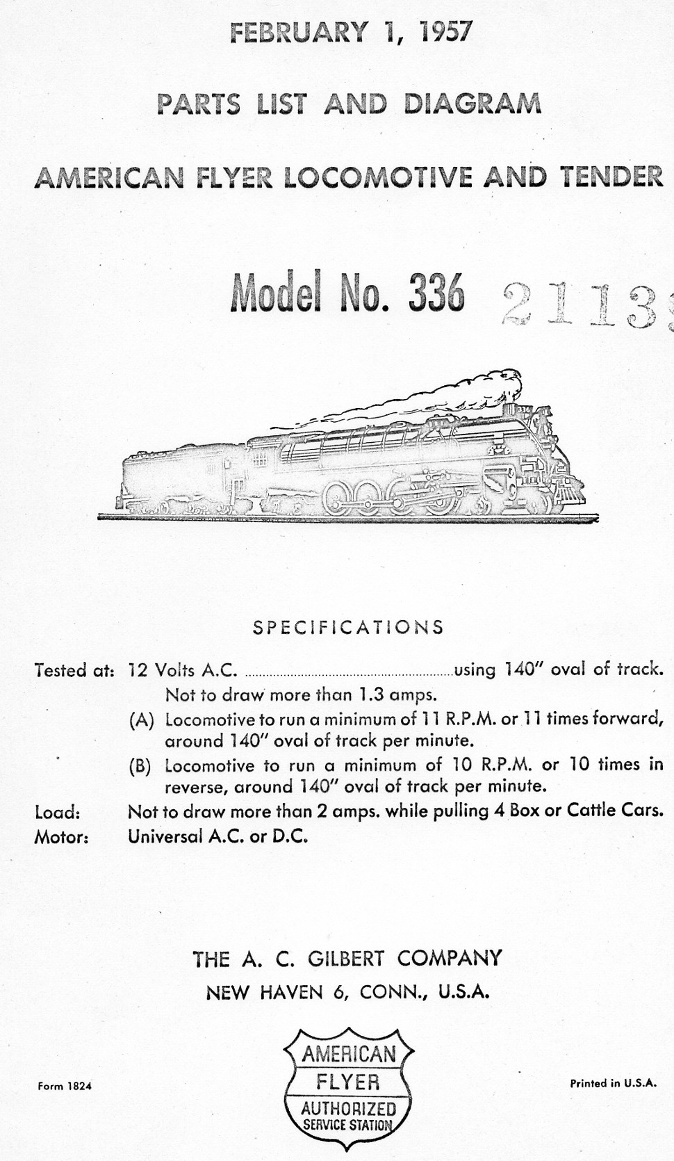 American Flyer Tender Wiring Locomotive Diagrams