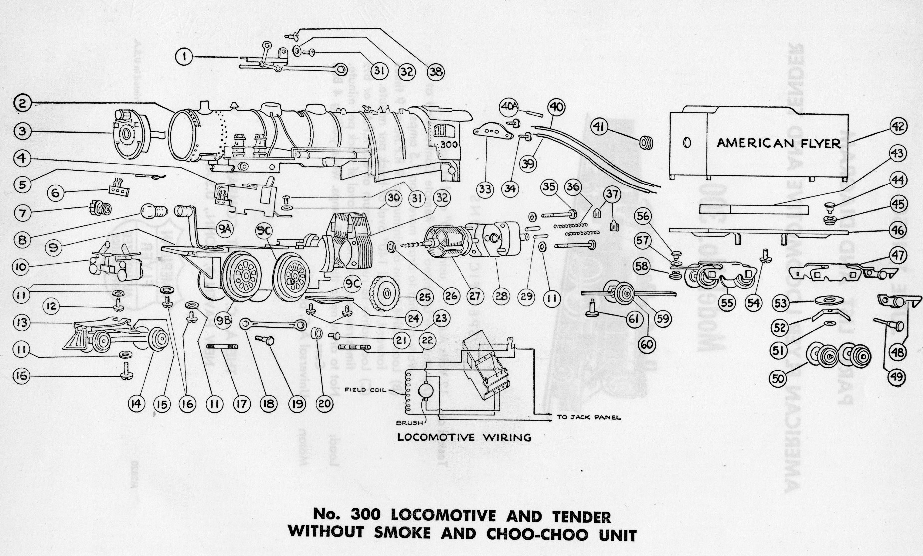 American Flyer Steam Whistle Wiring Diagram