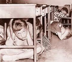 schoolbombdrill1957