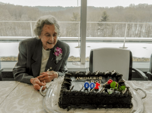 OSS agent Betty McIntosh turns 100!