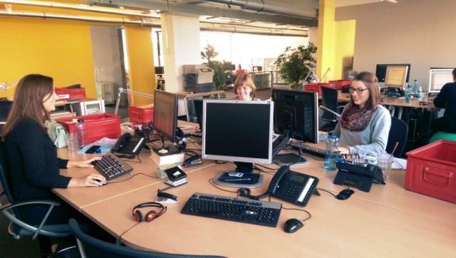 Heute hier, morgen dort - bei Maisberger kann man sich seinen Schreibtisch aussuchen