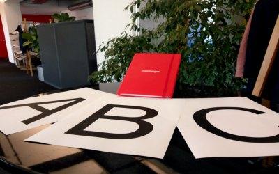Das Maisberger-ABC – Ein Einblick in den Agenturalltag