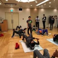 ストレッチポール,コアトレーニング,大阪,マラソン