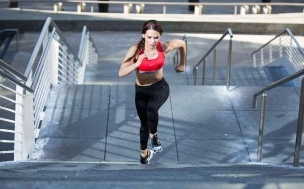 stair sprints hiit