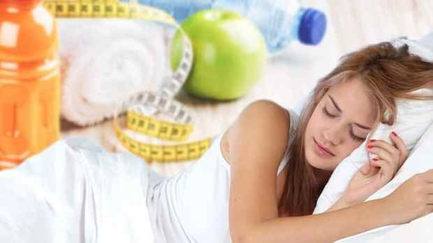 losing weight sleep tips