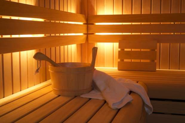 sauna heart health