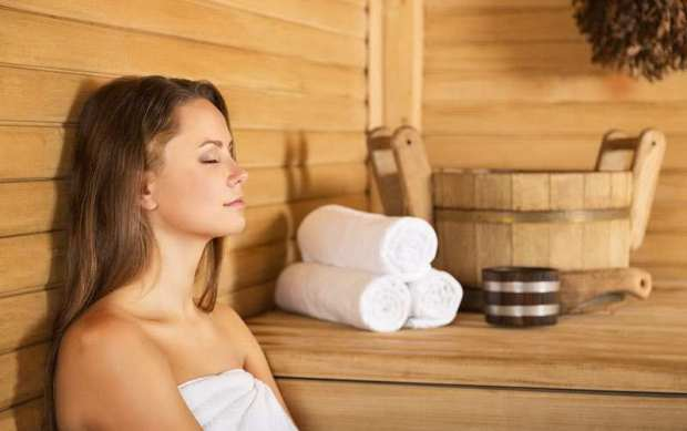 using the sauna to lose weight