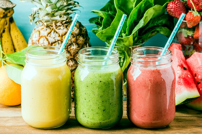 green smoothie meal replacement recipe