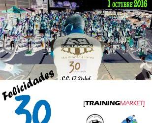 C.C. EL PEDAL aniversario con CICLO INDOOR