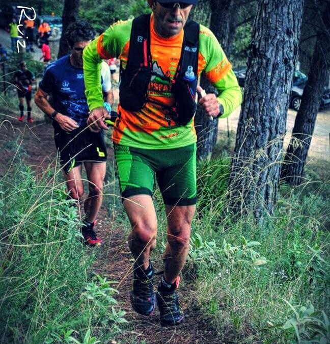 Jorge Ruiz 3º Master en el Trail Sierra de Albarracin