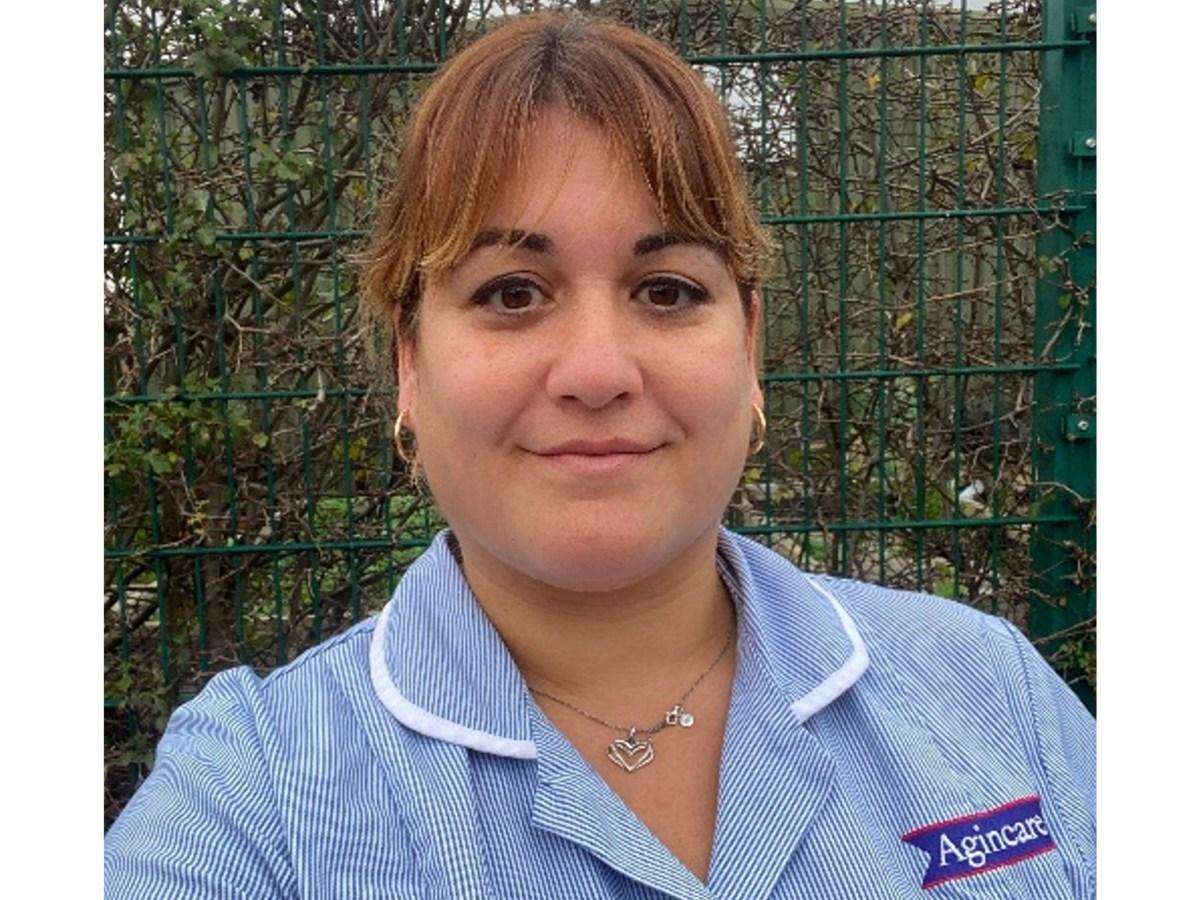 Soreya Kia Training Now social care appentice