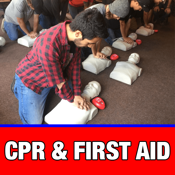 cpr, aed, and first aid training - las vegas