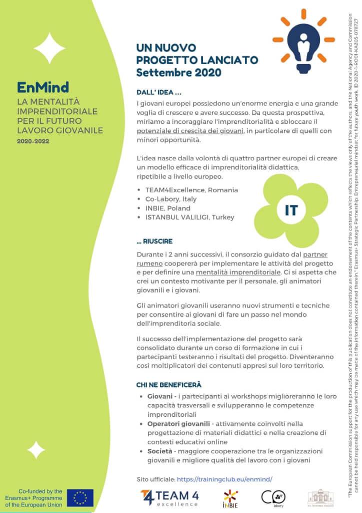 Entrepreneurial Mindset Leaflet 1 IT