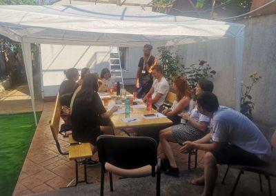 Language Café n°1, July 2021, Constanța