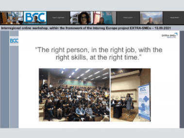 Blue Careers event
