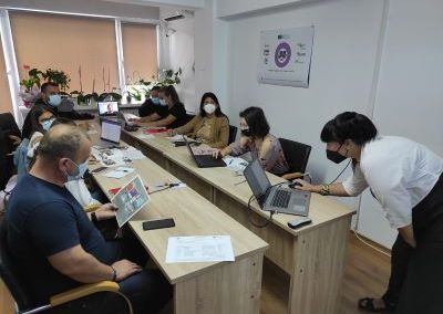Online support for youth, September 2021, Constanta