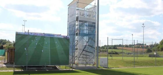 Image result for hoffenheim video wall