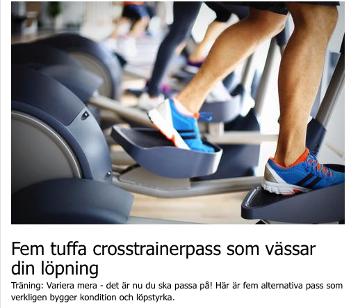 Vässa former med pass från runners world