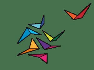 Symbol TRAINING TREE - wzlatujący ptak