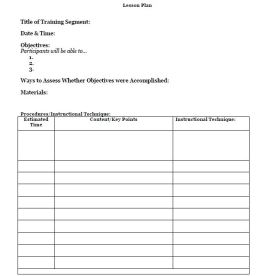 Lesson plan template for adult learners train like a champion blank lesson plan for adult learners completed sample thecheapjerseys Image collections