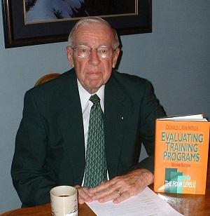 Don Kirkpatrick evaluation model for training programs