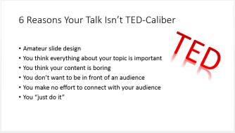 What is a TED Talk?
