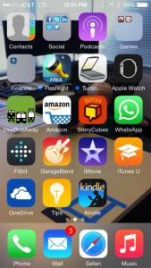 WhatsApp Home Screen