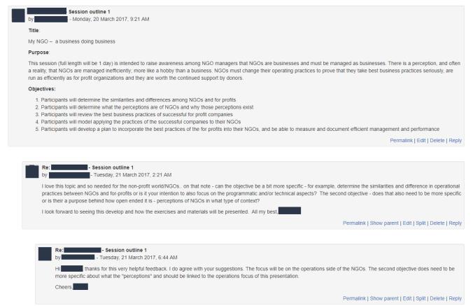 Discussion Forum