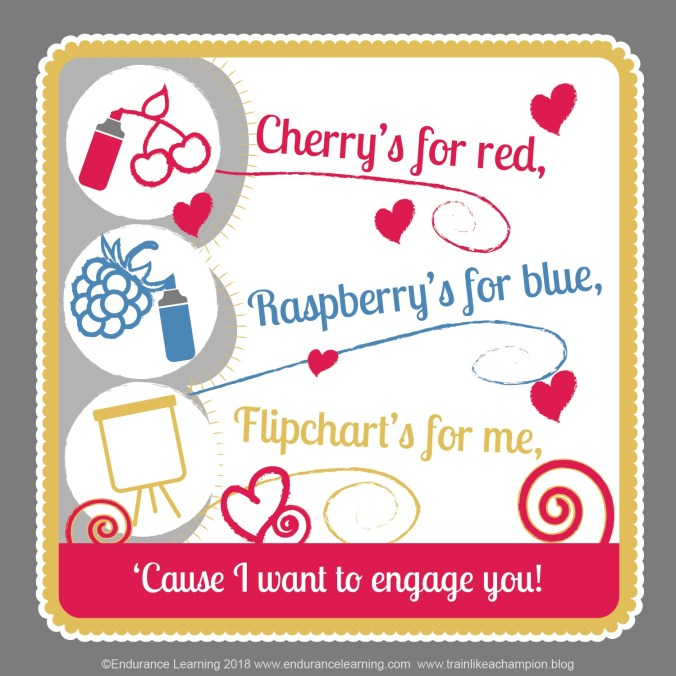 training valentines - cherry's for red
