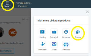 Joining LinkedIn Groups