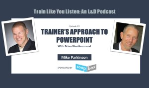 A trainer's approach to PowerPoint with Mike Parkinson