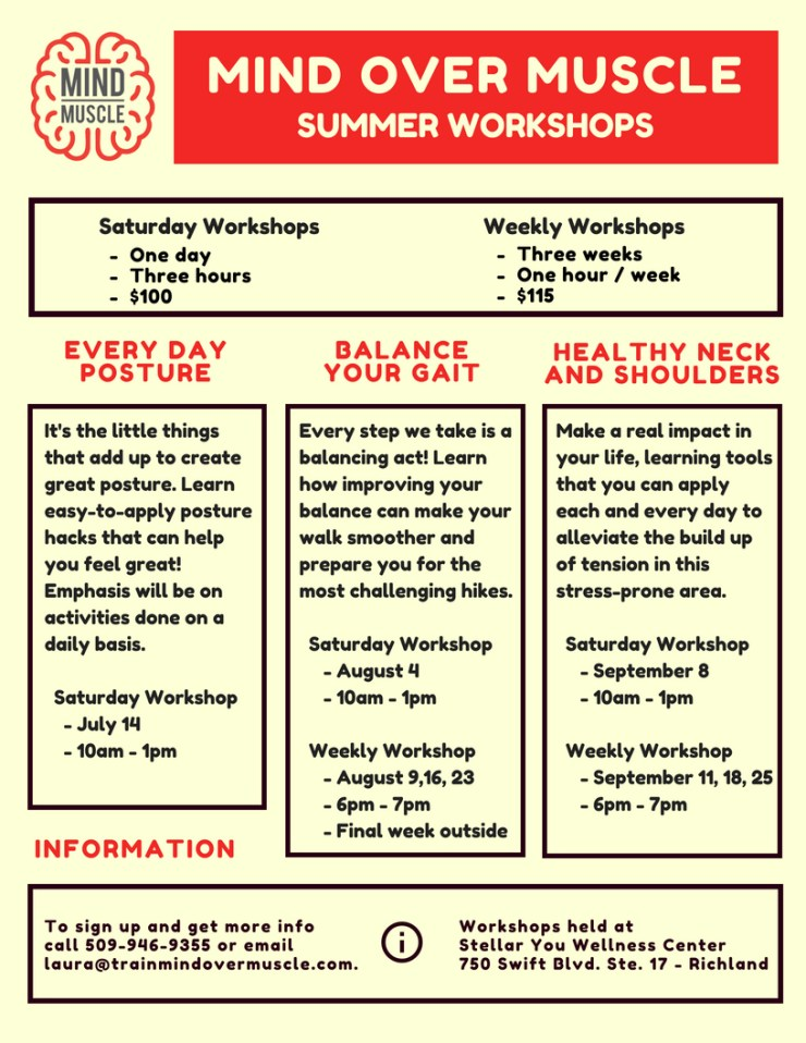 2018 Summer Workshop Series
